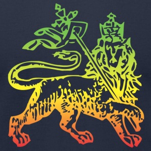 lion of judah - Men's T-Shirt by American Apparel