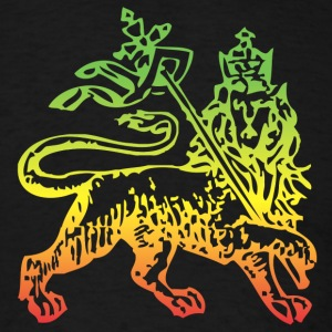 lion of judah - Men's T-Shirt