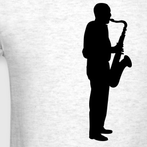 Light oxford sax player T-Shirts - Men's T-Shirt