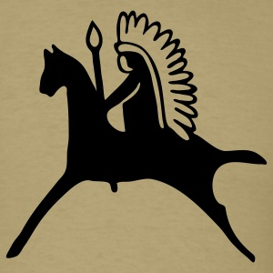 Chief Horse Native American 1c - Men's T-Shirt