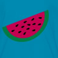 Design ~ KKT 'Large Watermelon Slice' Children's Tee, Light Pink