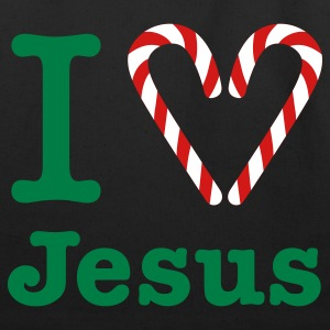 I Heart Jesus Bag - Eco-Friendly Cotton Tote