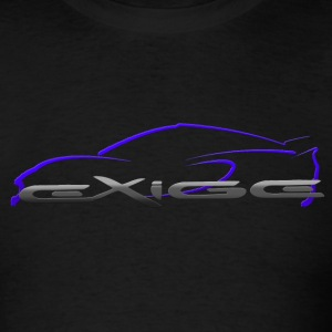 Exige Outline Blue - Men's T-Shirt