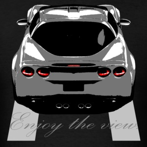"Vette ""Enjoy the view."" - Men's T-Shirt"
