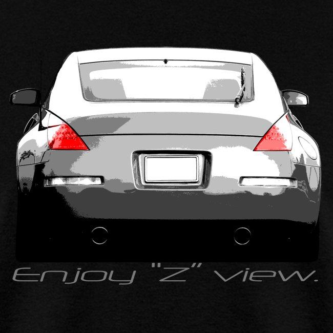 "350Z ""Enjoy Z view."""