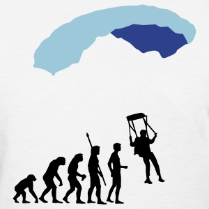 White evolution_fallschirm Women's T-Shirts - Women's T-Shirt