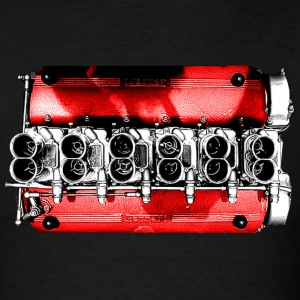 Testarossa Engine - Men's T-Shirt