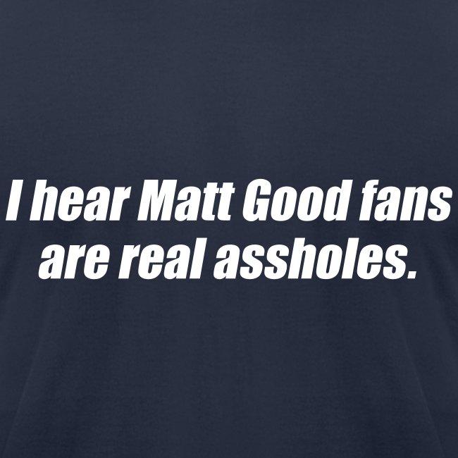 Matt Good Fans (Navy Blue)