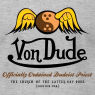 Design ~ Von Dude Flying Yin Yang Bowling Ball - Men's AA Tee