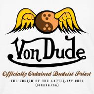 Design ~ Von Dude Flying Yin Yang Bowling Ball - Children's T-Shirt