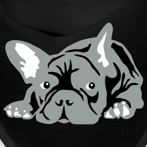 Black french bulldog Other - Bandana