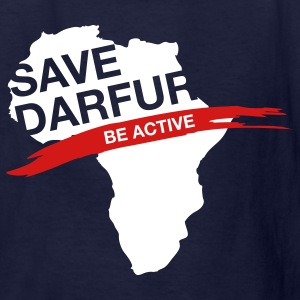 Navy Save Darfur (2c, Politics, MX) Kids' Shirts - Kids' T-Shirt