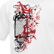 Design ~ Graffiti Fence Designer T-shirt