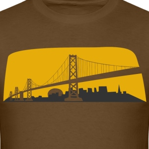 Bay Bridge 2 Color T-Shirts - Men's T-Shirt