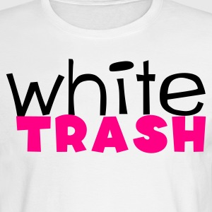White white trash Long Sleeve Shirts - Men's Long Sleeve T-Shirt