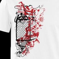 Design ~ Graffiti Fence Designer T-shirt