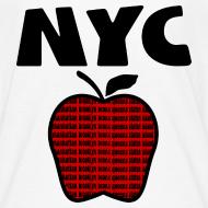 Design ~ KKT 'NYC, Big Apple With Boroughs, DIGITAL DIRECT' Kids' Tee, White