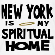 Design ~ KKT 'New York, Spiritual Home' Kids' Tee, White