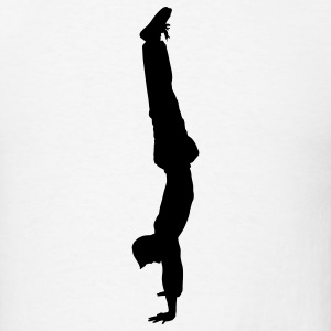 White handstand T-Shirts - Men's T-Shirt