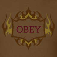 Design ~ OBEY TRIBAL CHOCOLATE TEE