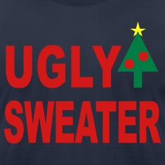 Navy Ugly Sweater T-Shirts