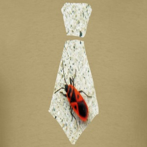 Khaki Stink Bug Necktie T-Shirts - Men's T-Shirt