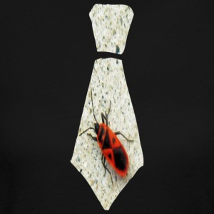 Chocolate Stink Bug Necktie Long Sleeve Shirts - Women's Long Sleeve Jersey T-Shirt