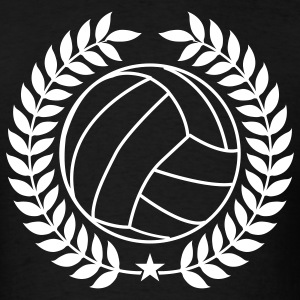 Black Cool Vintage Volleyball for Teams T-Shirts - Men's T-Shirt