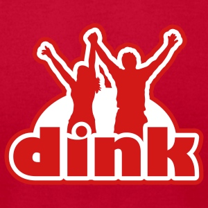 Dink T-Shirts - Men's T-Shirt by American Apparel