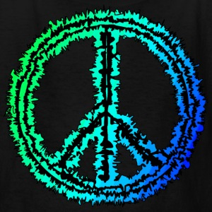 Black peace sign Kids' Shirts - Kids' T-Shirt
