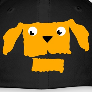 Royal blue dog face with open jaw Caps - Baseball Cap