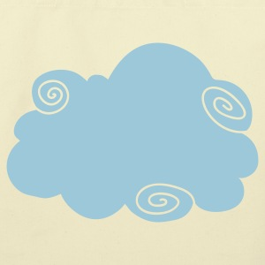 Creme fancy cloud  Bags  - Eco-Friendly Cotton Tote