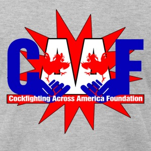 Cockfighting Across America Foundation - Men's T-Shirt by American Apparel