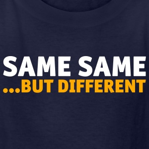 Navy Same Same But Different 2 (2c, NEU) Kids' Shirts - Kids' T-Shirt