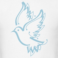 Dove Peace Calligraphy 1c