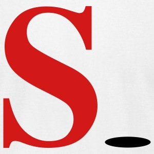 White S-Hole T-Shirts - Men's T-Shirt by American Apparel