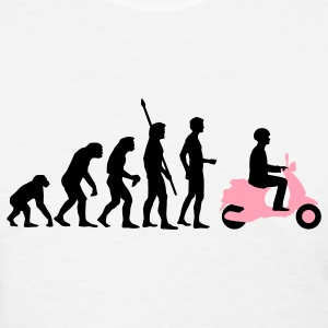 White evolution_vespa_2c Women's T-Shirts - Women's T-Shirt