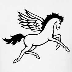 Pegasus Strong Horse Wings 1c
