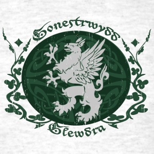 Light oxford Celtic Griffin T-Shirts - Men's T-Shirt