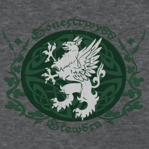 Deep heather Celtic Griffin Women's T-Shirts - Women's T-Shirt