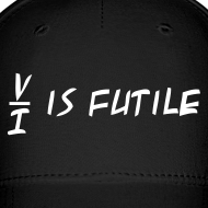 Design ~ Resistance is Futile Cap (on Dark)
