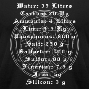 Full Metal Alchemist Human Transmutation - Men's T-Shirt by American Apparel