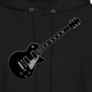Black Guitar Les Paul Hoodies - Men's Hoodie