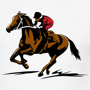 Horse Shirt - Men's Ringer T-Shirt
