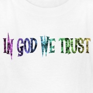 White In God we Trust Kids' Shirts - Kids' T-Shirt