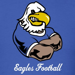 Royal blue Custom Eagle team Graphic T-Shirts - Men's T-Shirt