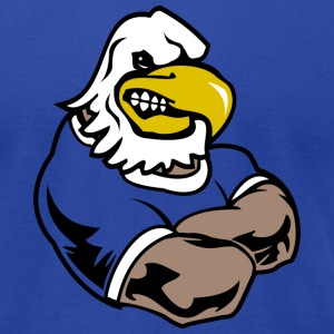 Royal blue Custom Eagle team Graphic T-Shirts - Men's T-Shirt by American Apparel