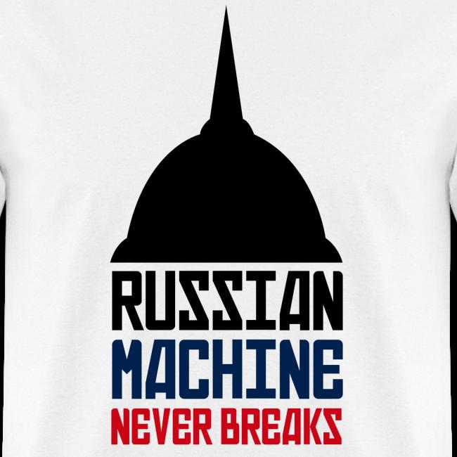 Russian Machine Never Breaks Logo T-Shirt