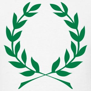 Laurel Wreath Roman Caesar 1c - Men's T-Shirt