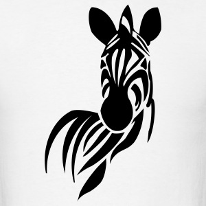 Zebra Horse 1c - Men's T-Shirt